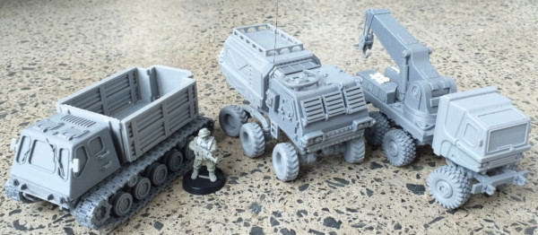 Armored Recovery Vehicle Combos
