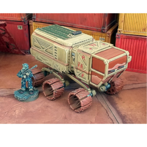 Prospector Rover with 28mm Figure