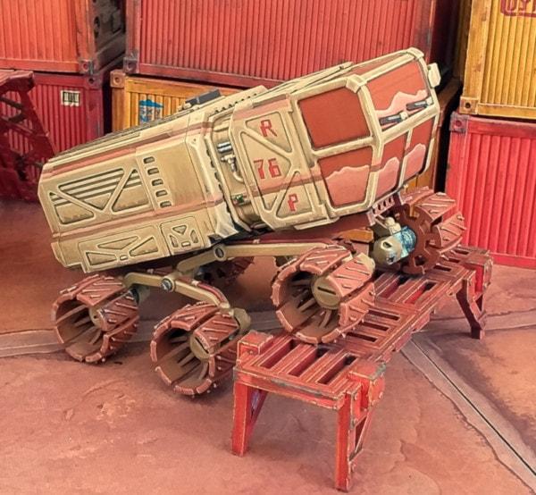 Prospector Rover Rocker Bogies