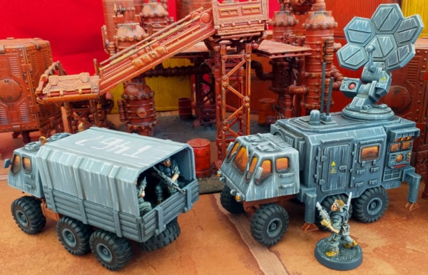 Troop and Signal Extra Truck Bodies