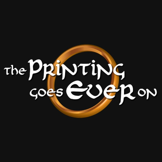 The Printing Goes Ever On