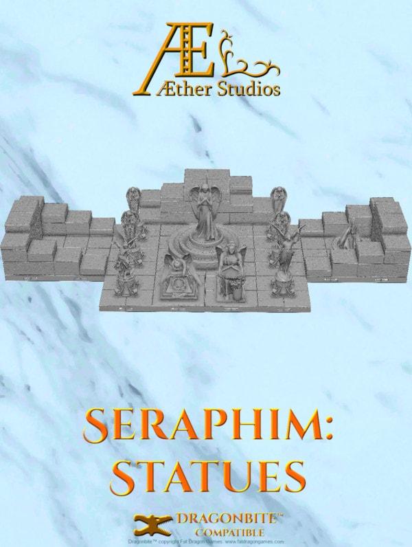 Seraphim Statues