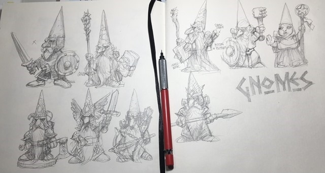 Sketchbook by Will Sutton
