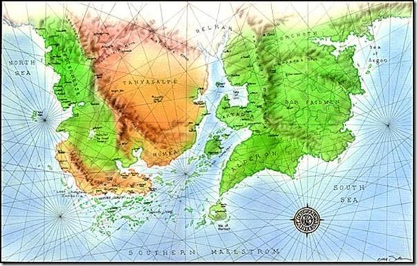 Zandoria map