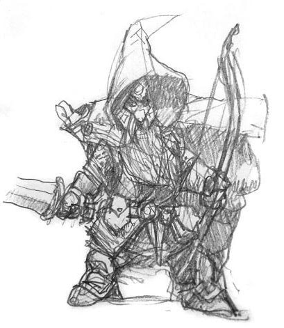 Gnome Ranger Sketch