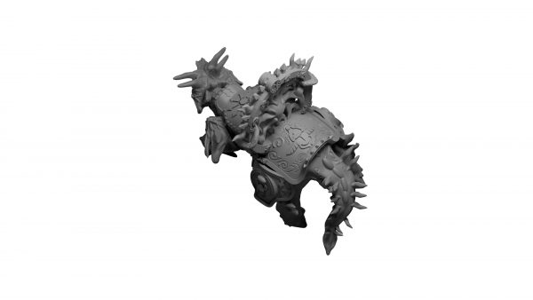 Spawn of chaos Psi Beast (40k Proxy) Mystic Pigeon Gaming