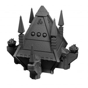 Chaos Psi Pyramid (Egypt themed tabletop terrain)