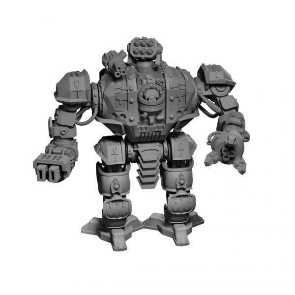 Dreadknight warmachine from Mystic Pigeon Gaming