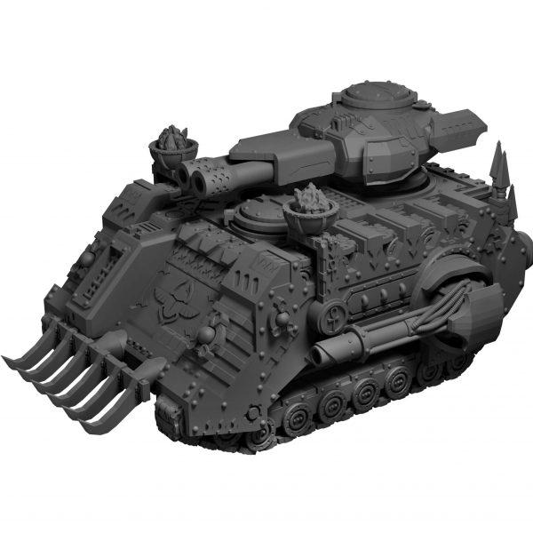 APC tank STL from Mystic Pigeon Gaming