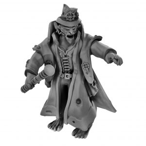 dnd Rich goblin ring leader miniature from Mystic Pigeon Gaming