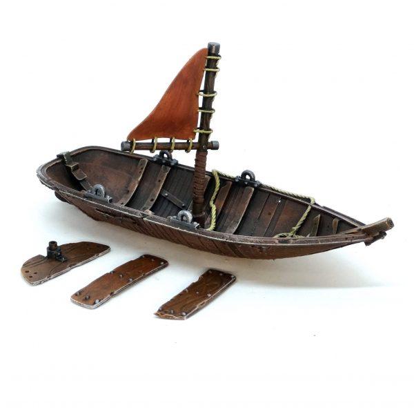 Sail boat single sail from Mystic Pigeon Gaming